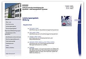 Schweizerische Vereinigung f�r Qualit�ts- und Managementsysteme (SQS)