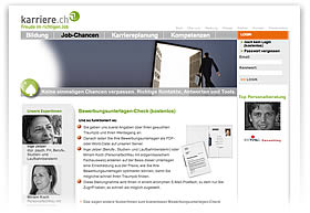 Kostenloser Bewerbungsunterlagen-Check