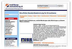 Ausbildung-Weiterbildung.ch