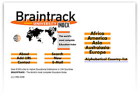 BRAINTRACK - University-Index