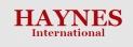 Haynes International AG