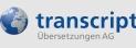 Transcript Übersetzungen AG