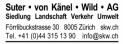 Suter von Känel Wild AG