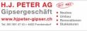 H.J. Peter AG, Gipsergeschäft